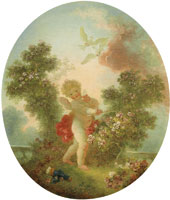 Jean-Honoré Fragonard Love the Sentinel