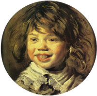 Frans Hals - Head of a laughing child