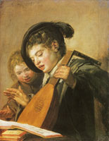 Frans Hals Two Singing Boys