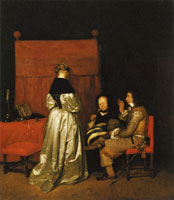 Gerard ter Borch Paternal Admonition