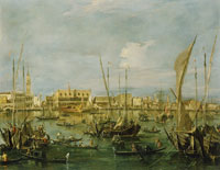 Francesco Guardi The Molo and the Riva degli Schiavoni, Venice