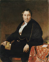 Jean Auguste Dominique Ingres Jacques-Louis Leblanc