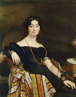 Jean Auguste Dominique Ingres Madame Jacques-Louis Leblanc