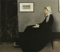 James Abbott McNeil Whistler - Arrangement in Grey and Black No 1: Portrait of the Artist's Mother