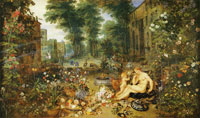 Jan Brueghel the Elder and Peter Paul Rubens Allegory of Smell