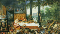 Jan Brueghel the Elder and Peter Paul Rubens Allegory of Taste