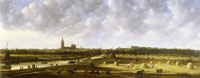 Jan van Goyen - View of The Hague from the Southeast