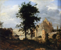 Jan van der Heyden The Old Palace, Brussels