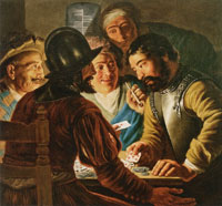 Jan Lievens The Card Players
