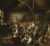Jan Miense Molenaer Peasants carousing