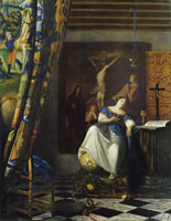 Johannes Vermeer Allegory of the faith