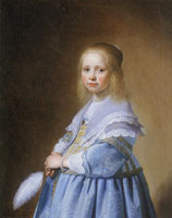 Johannes Verspronck Girl in blue