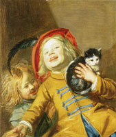 Judith Leyster Two Children with a Cat