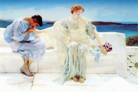 Lawrence Alma-Tadema Ask me no more