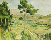 Paul Cézanne Mont Sainte-Victoire and the Viaduct of the Arc River Valley