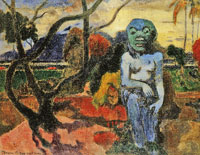 Paul Gauguin Rave te hiti aamu (The Idol)