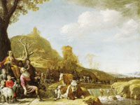 Paulus Potter God appearing to Abraham at Sichem
