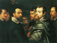 Peter Paul Rubens Self-Portrait with Friends