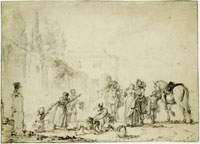 Philips Wouwerman Hunting party