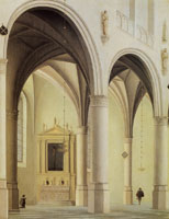 Pieter Saenredam Chapel in the St. Laurenskerk, Alkmaar