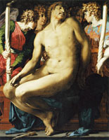 Rosso Fiorentino Dead Christ with Angels