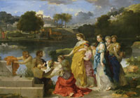 Sébastien Bourdon The Finding of Moses