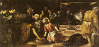 Tintoretto Christ Washing the Disciples' Feet