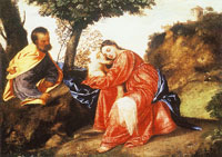 Titian The Rest on the Flight into Egypt