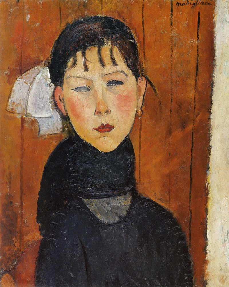Amedeo Modigliani - Marie Daughter of the People