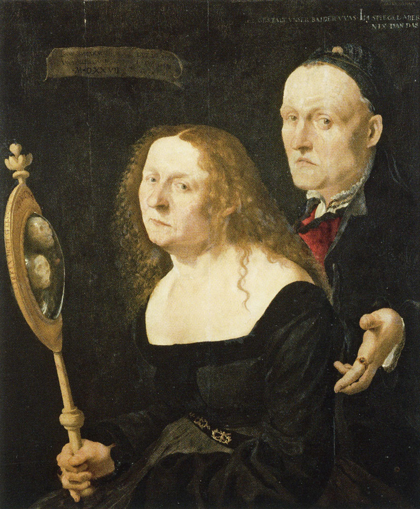 Laux Furtenagel - The Painter Hans Burgkmair and his Wife Anna