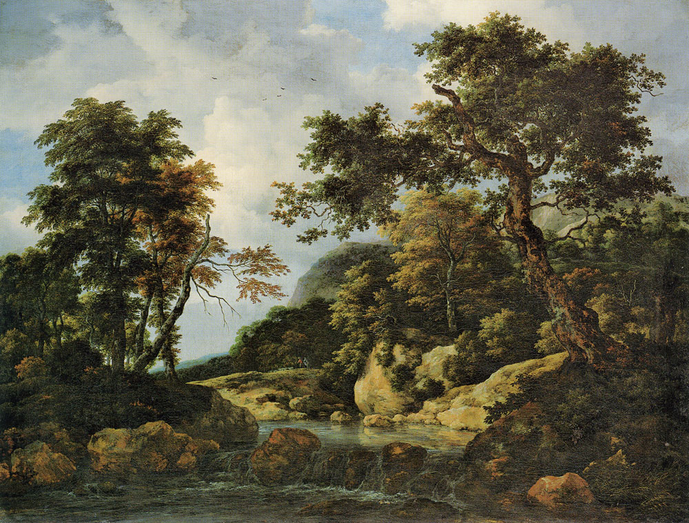 Jacob van Ruisdael - The Forest Stream