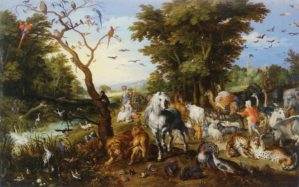 Jan Brueghel the Elder - The Entry of the Animals into Noah's Ark