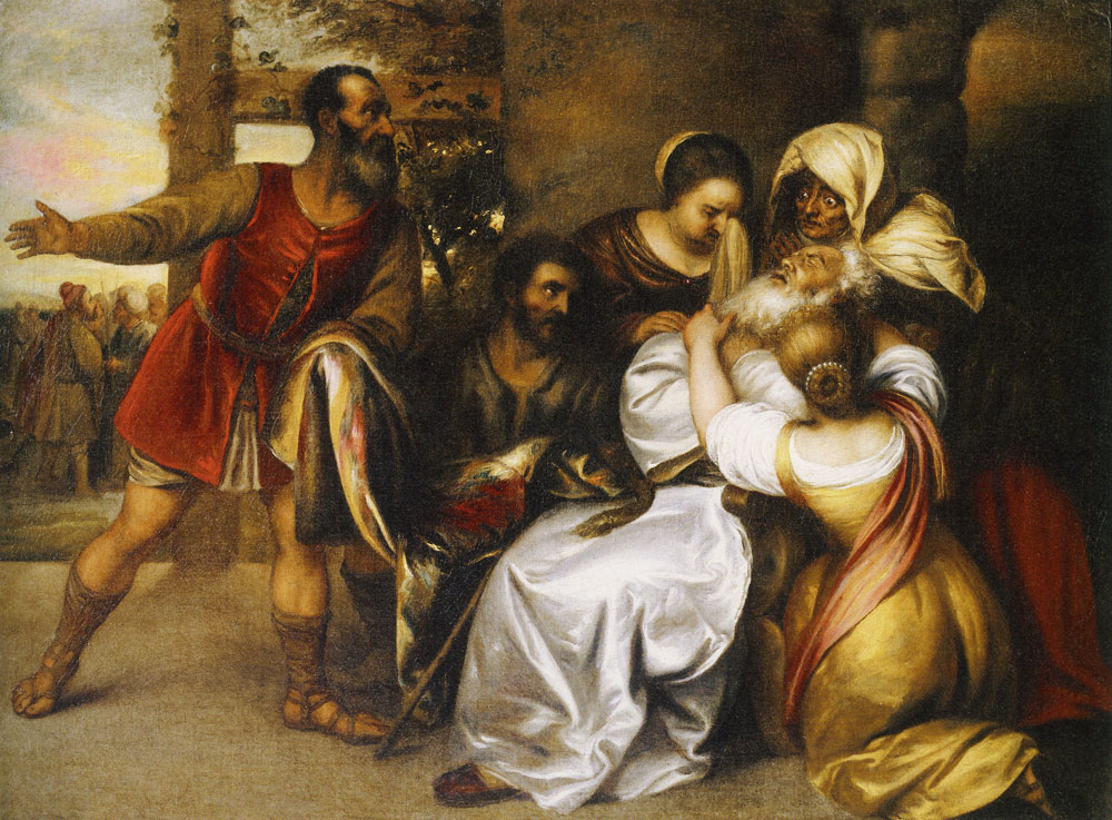 Jan Lievens - Jacob Receiving Joseph's Bloody Coat