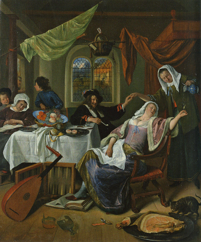 Jan Steen - The Dissolute Household