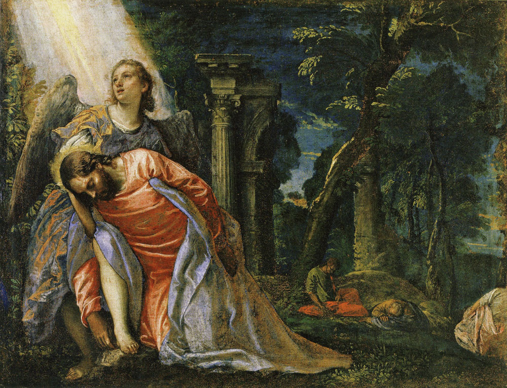 Paolo Veronese - Agony in the Garden