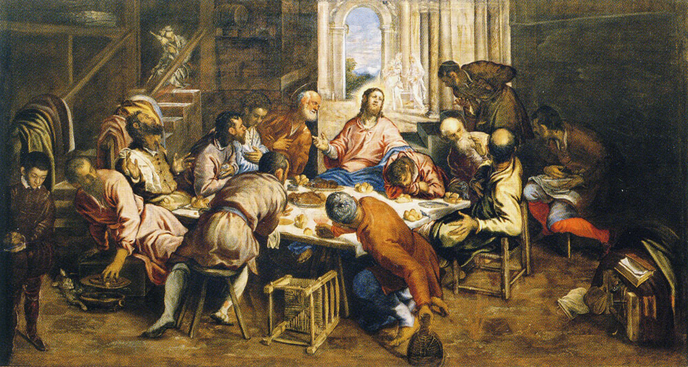 Tintoretto - Last Supper