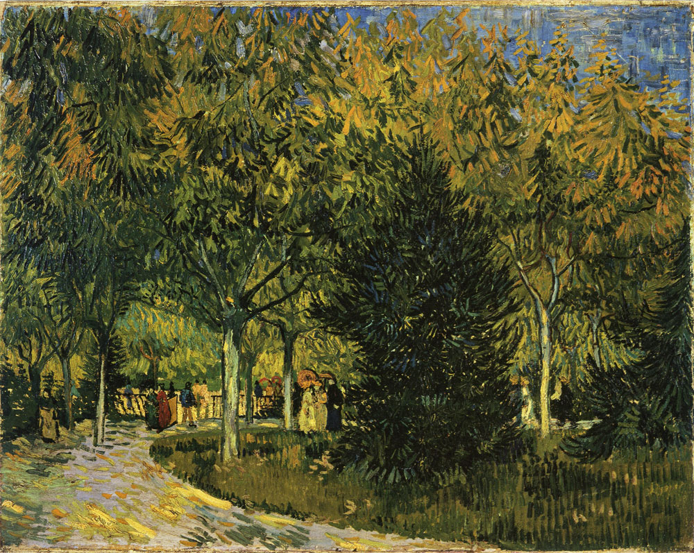 Vincent van Gogh - A Lane in the Public Garden