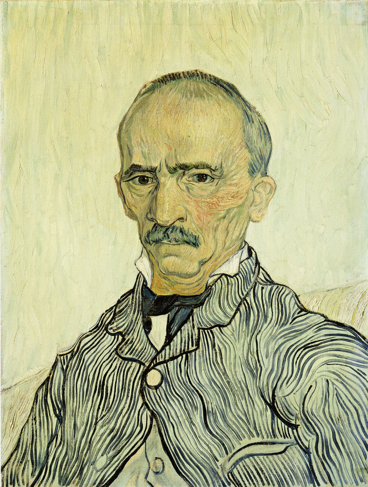 Vincent van Gogh - Portrait of the Chief Orderly (Trabuc)