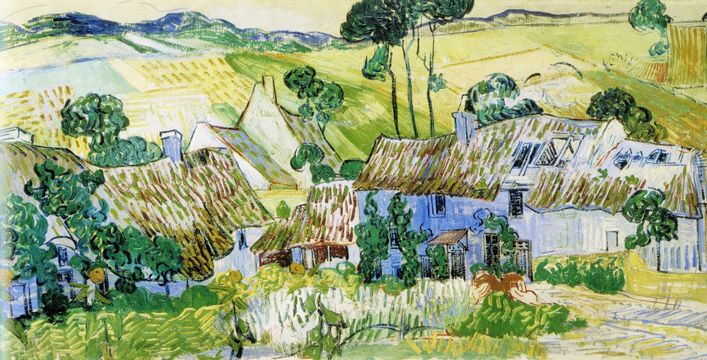 Vincent van Gogh - Farms near Auvers
