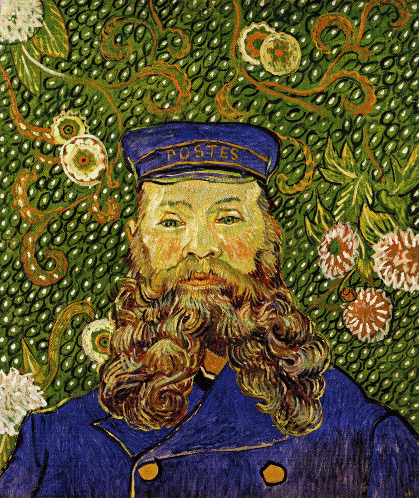 Vincent van Gogh - Portrait of Joseph Roulin