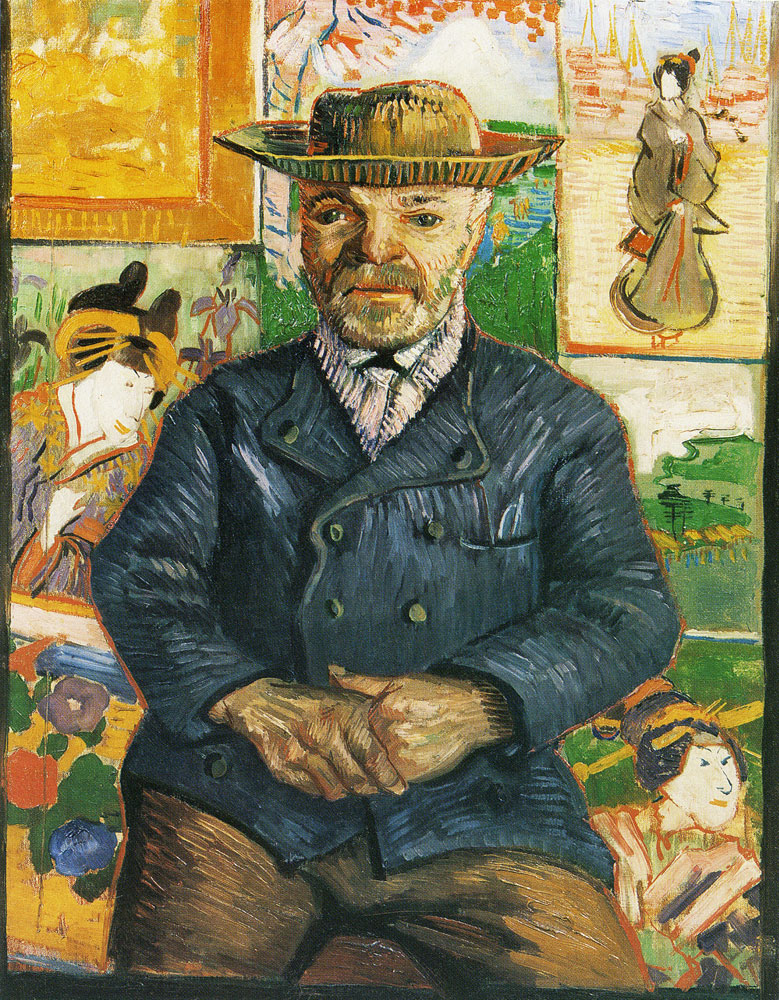 Vincent van Gogh - Portrait of Père Tanguy, Half-Length