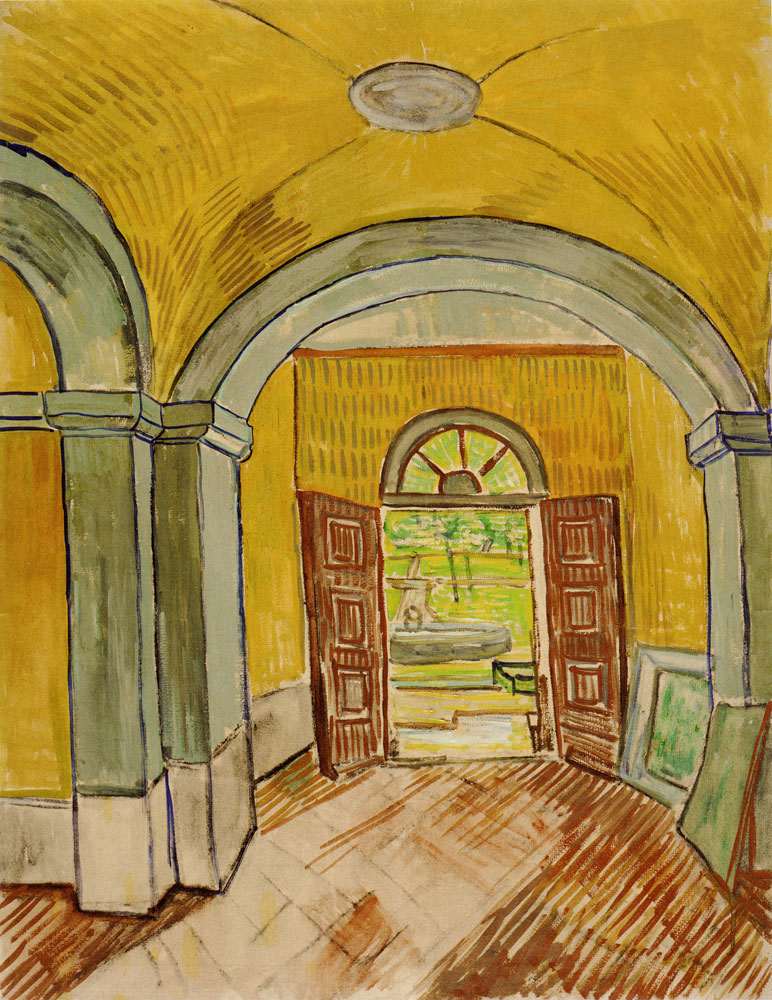 Vincent van Gogh - The Vestibule of the Asylum