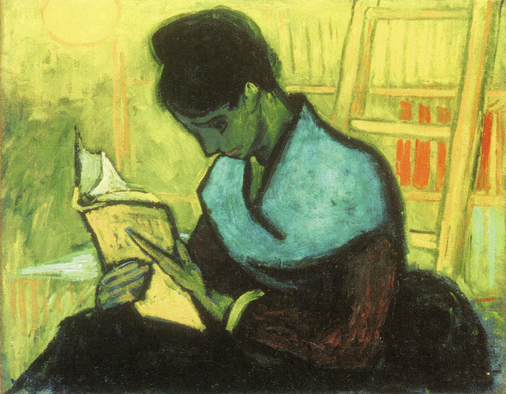 Vincent van Gogh - Woman Reading a Novel