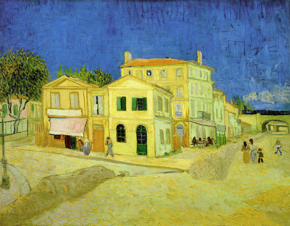 Vincent van Gogh - The Yellow House