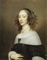 Adriaen Hanneman Portrait of a Woman
