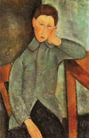 Amedeo Modigliani The Boy (Youth in Blue Jacket)