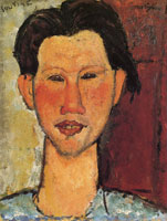 Amedeo Modigliani Portrait of Chaïm Soutine