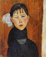 Amedeo Modigliani Marie Daughter of the People