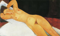 Amedeo Modigliani Nude