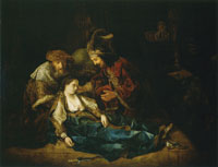 Follower of Rembrandt The Death of Lucretia